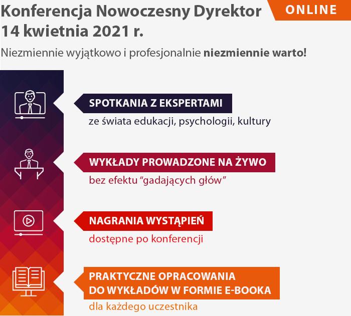 Librus KND 2021 online konferencja dyrektor szkoła